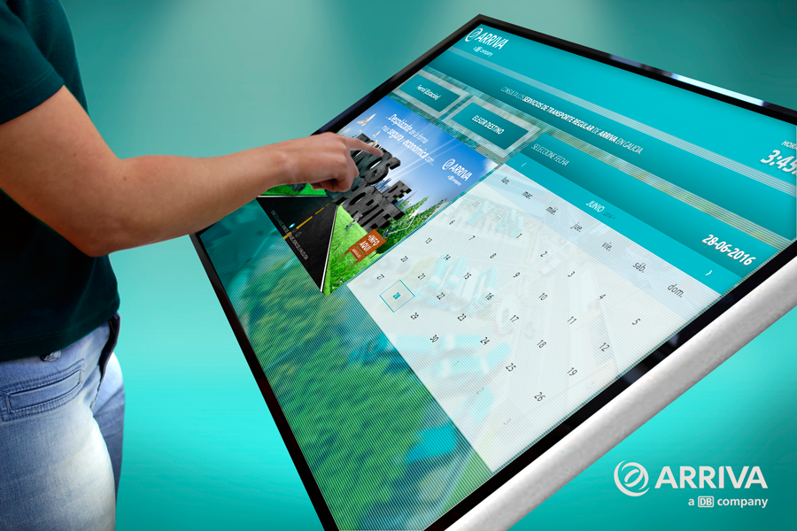 Arriva TouchScreen